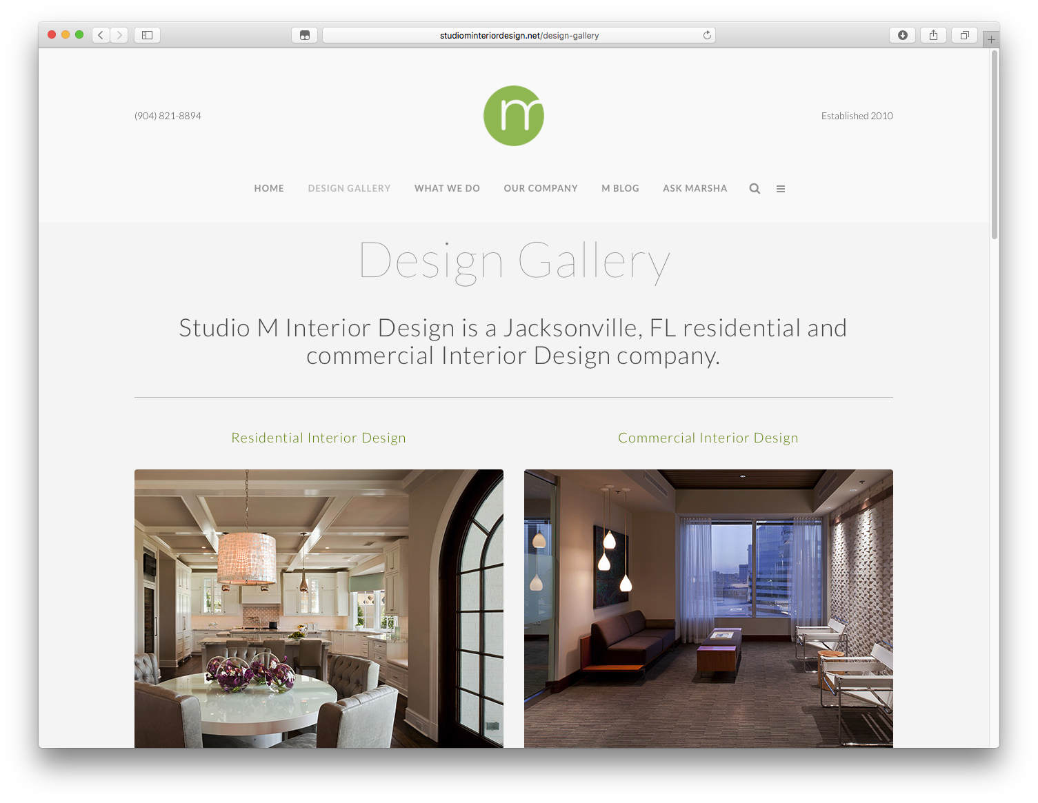 Studio M Interior Design » Harrington Design Company